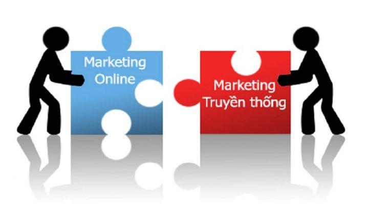 Nên kết hợp marketing online và marketing truyền thống