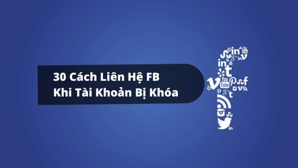 Cách liên hệ facebook