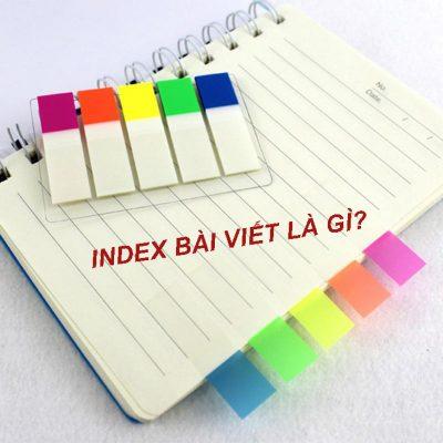 Index bai viet nhanh