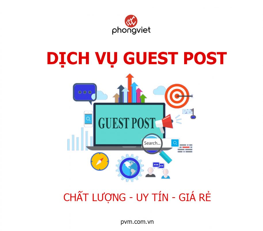 Dịch vụ Guest Post Phong Việt