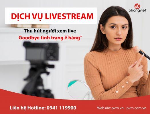 dịch vụ livestream