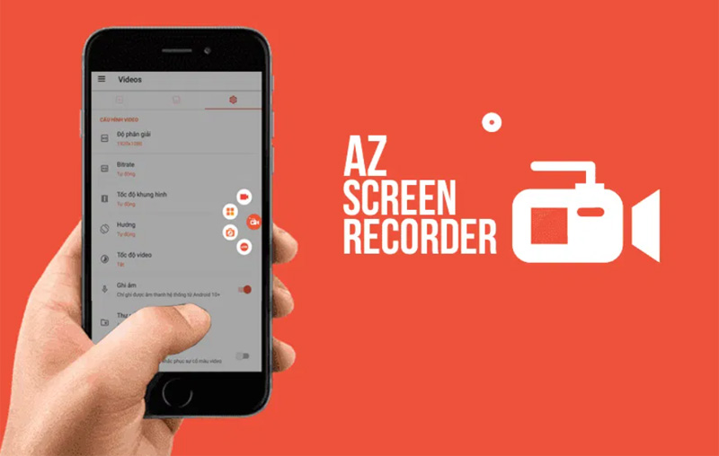 AZ record là một trong những ứng dụng quay màn hình tốt