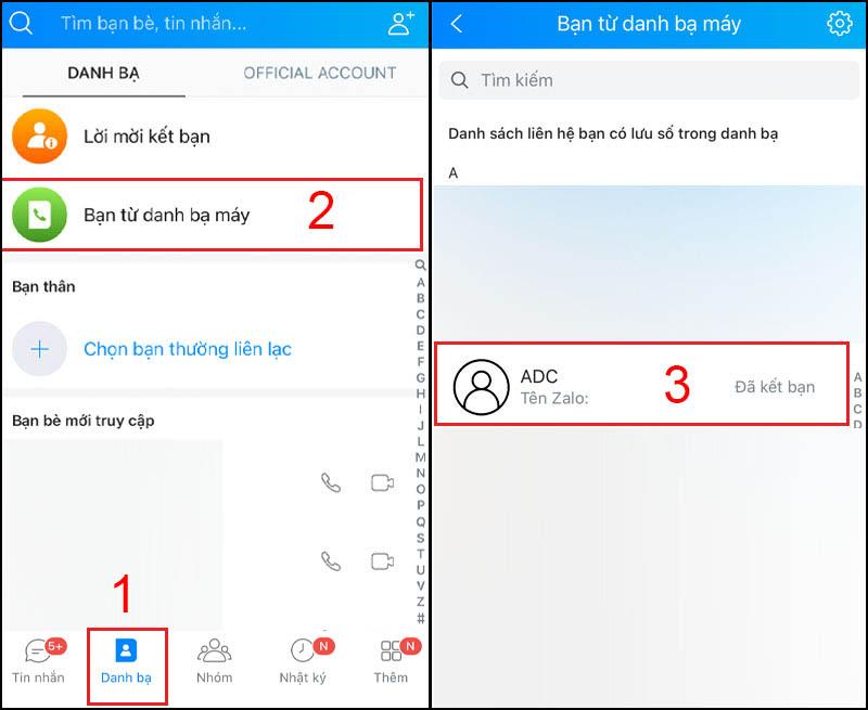 1. Cách lấy số điện thoại từ Zalo trên điện thoại